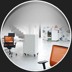 sitz und office studio living office. Black Bedroom Furniture Sets. Home Design Ideas